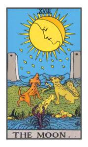The Moon - Tarot Card