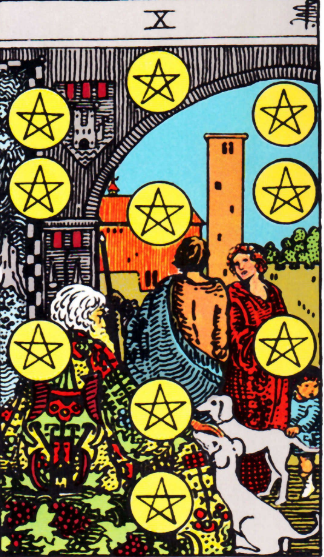 Ten of Pentacles